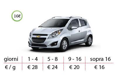 prezzi offerte promozioni autonoleggio romania timisoara chevrolet spark
