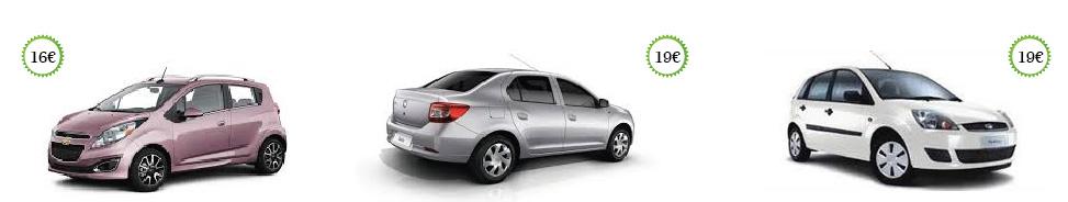 quanto costa un auto a noleggio a Timisoara