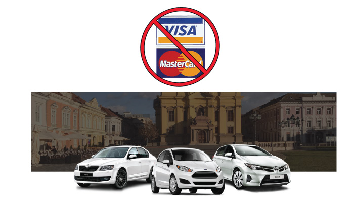 noleggio auto senza carta di credito Arad